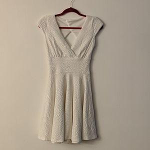3 for $20! EUC white skater dress a-line v-neck